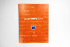 Croney Team Listing Book Cover: Logo Design, Art Direction, Graphic Design